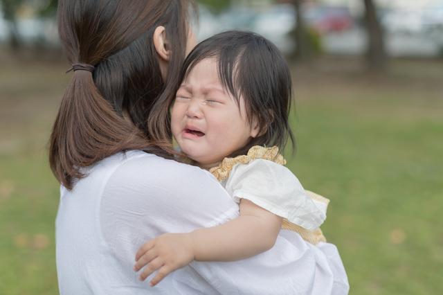 抱き癖のつく子ども